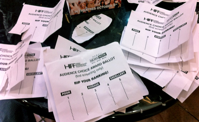 HIFF ballots