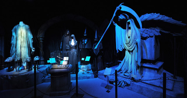 Props and costumes from the Death Eaters revival of Voldemort.