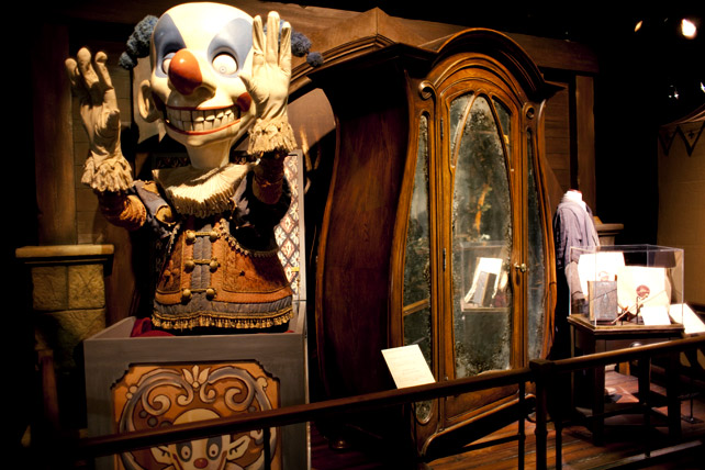 The Boggart Jack-in-the-Box and wardrobe from the Prisoner of Azkaban.