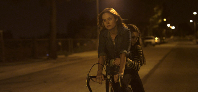 Brie Larson as Grace, the protagonist of Short Term 12.