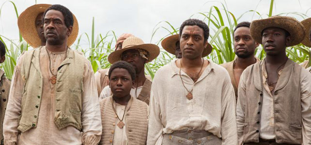 Solomon Northup stares blankly at the bleak movie offerings for us in January.