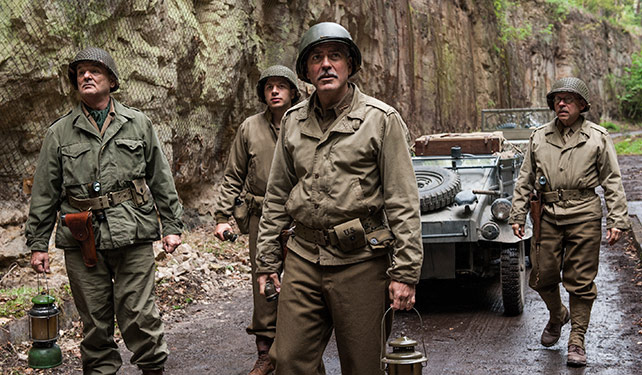 Clooney and the boys go huntin' Nazis (that stole a bunch of art).