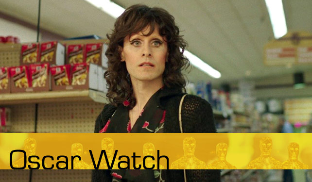 Oscar Watch looks to break down the different categories for the 2014 Academy Awards. We'll do our best to give you the inside track for your Oscar pools. Above: Jaret Leto as Rayon from Dallas Buyers Club.