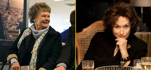 Judi Dench in Philomena & Meryl Streep in August: Osage County