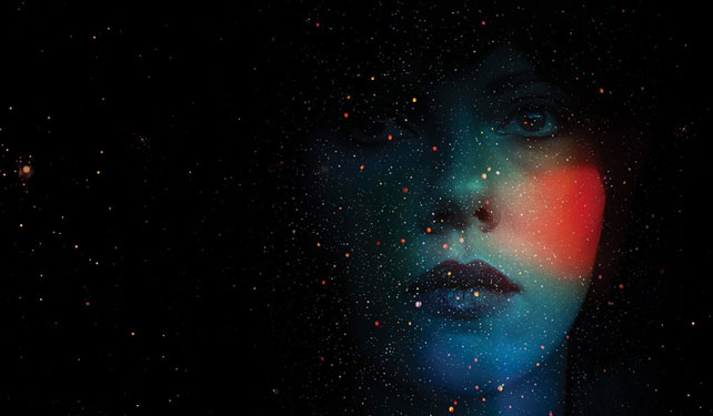 Scarlett Johansson takes a trip to indie town as she portrays an alien (?) on a mission to seduce men in Under the Skin.