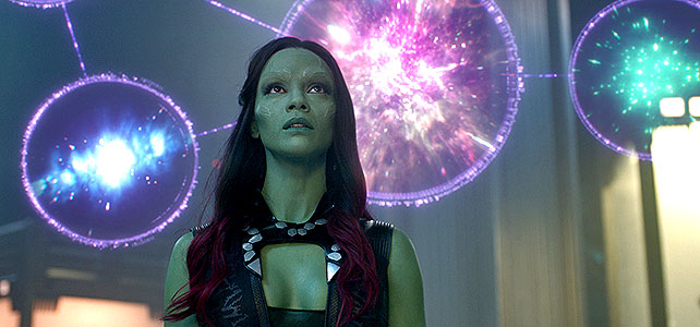 Going green in Trek isn't as cool as going green in Guardians.