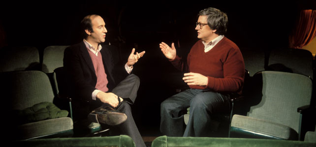 Gene Siskel and Roger debate the merits of film on At the Movies.