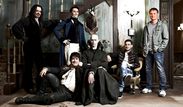 The flat of vampires in What We Do in the Shadows.