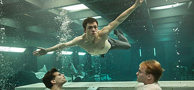 Just keep swimin'.