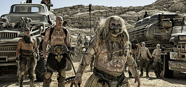 "Immortan Joe and his band of ""half-life"" humans."